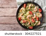 Zucchini Pasta With Shrimp And...