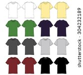 mens tee drawings in various...