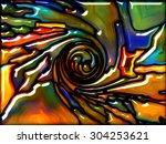 goblin glass series. design... | Shutterstock . vector #304253621