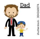 family design  vector...   Shutterstock .eps vector #304260074