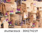 kyoto  japan   june 2015   a...   Shutterstock . vector #304274219