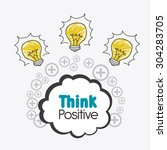 think different design  vector... | Shutterstock .eps vector #304283705