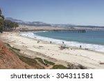 San Simeon Bay  Pier   W R...