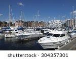 yachts in ipswich marina ...