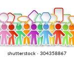 illustration of different color ... | Shutterstock .eps vector #304358867