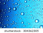 water drops close up. abstract... | Shutterstock . vector #304362305
