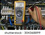 electrical measurement.   Shutterstock . vector #304368899