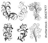 raster version of vector set... | Shutterstock . vector #30437977