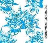 abstract elegance seamless... | Shutterstock .eps vector #304382651