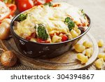 Casserole With Meat  Pasta ...