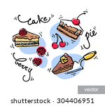 Doodle Icons Set.confectionery...