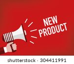 new product | Shutterstock .eps vector #304411991