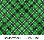 green tartan fabric texture... | Shutterstock . vector #304423451