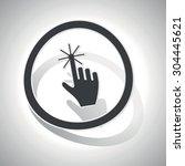 hand click sticker icon