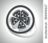 pizza sticker icon