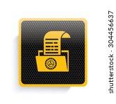 file icon design yellow version ...