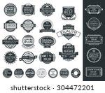 insignias  logotypes  stamps... | Shutterstock .eps vector #304472201