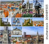 Munich Collage. Old Town...