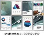 abstract vector backgrounds and ... | Shutterstock .eps vector #304499549