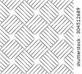 seamless grunge lines geometric ... | Shutterstock .eps vector #304512689