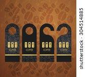 black dangler corporate... | Shutterstock .eps vector #304514885
