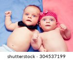 Newborn Twins Boy And Girl