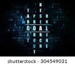 advertising concept  pixelated... | Shutterstock . vector #304549031