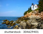 Historic Lighthouse  Acadia...