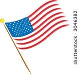 american flag   Shutterstock .eps vector #3046382