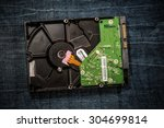 hard disk | Shutterstock . vector #304699814