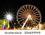 ferris wheel | Shutterstock . vector #304699949