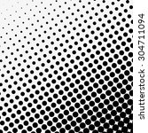 abstract dotted halftone effect ... | Shutterstock .eps vector #304711094