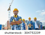 business  building  teamwork... | Shutterstock . vector #304752239