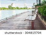City Park In Bangkok  Thailand