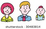 family set | Shutterstock . vector #30483814