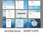 set of 9 templates for...