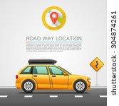 car travel on the location. car ...
