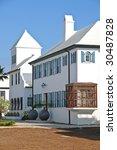 Luxurious Mediterranean Style House - stock photo