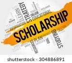 scholarship word cloud