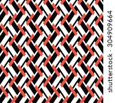 seamless geometric pattern from ... | Shutterstock .eps vector #304909664