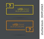 question mark icon. help symbol.... | Shutterstock .eps vector #304914065
