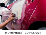 auto body repair series  ... | Shutterstock . vector #304927094