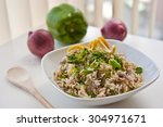 indian chinese fried rice | Shutterstock . vector #304971671