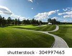 golf club | Shutterstock . vector #304997465