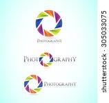 vector company logo icon... | Shutterstock .eps vector #305033075