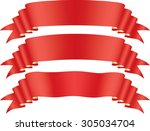 red tape | Shutterstock . vector #305034704