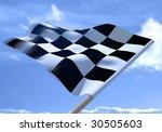 Waving A Checkered Flag