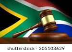 south africa law and justice... | Shutterstock . vector #305103629