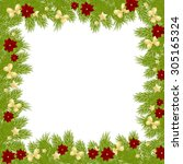 christmas card background... | Shutterstock .eps vector #305165324