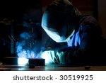welder | Shutterstock . vector #30519925